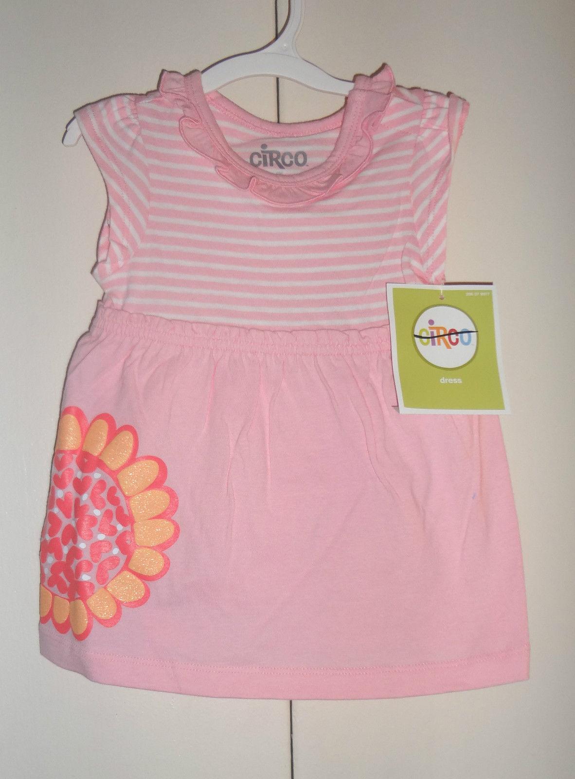 Circo Infant  Girls Dresses Flower  Size 6 Months   NWT - $6.30