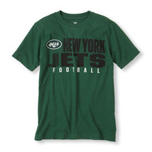 New York Jets NFL Team Apparel Boys  T-Shirt Sizes-4 NWT - $17.99