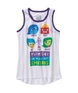 Disney Pixar INSIDE OUT Tank Top  Shirt Top  XS 4-5 , S 6-6X ,M 7-8 ,L 1... - $9.09