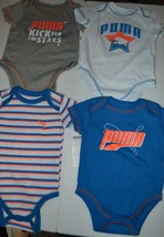 PUMA 4 PACK One piece BODY SUITS - $17.49