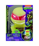 Teenage Mutant Ninja Turtles Raphael Figure Soft Lite Soft Formed Glowin... - $14.54