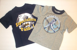 The Childrens Place Infant Toddler Boys TShirts Spanish Various Sizes NWT - $6.99