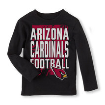 NFL Arizona Cardinals Boy or Girl Long Sleeve Shirt  Infant   6-9 M,9-12... - $17.99