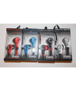 Mental Beats Xtantic Earbuds Cell Phone Earphones Microphone  NIB Pick C... - $11.69