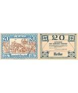 20 Heller 1920. Notgeld. Austria. Necessity mon... - $2.49