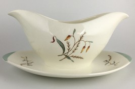 Wedgwood TIGER LILY gravy boat (SKU EC 206) FREE SHIPPING - $30.00