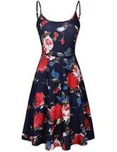 MOOSUNGEEK A-Line Dress, Womens Sleeveless Floral Printed Swing Sundress... - $17.23