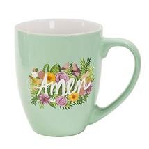 Thimblepress Jumbo Inspiring Mug, Ceramic 18 Ounces, Amen Bouquet - $18.57