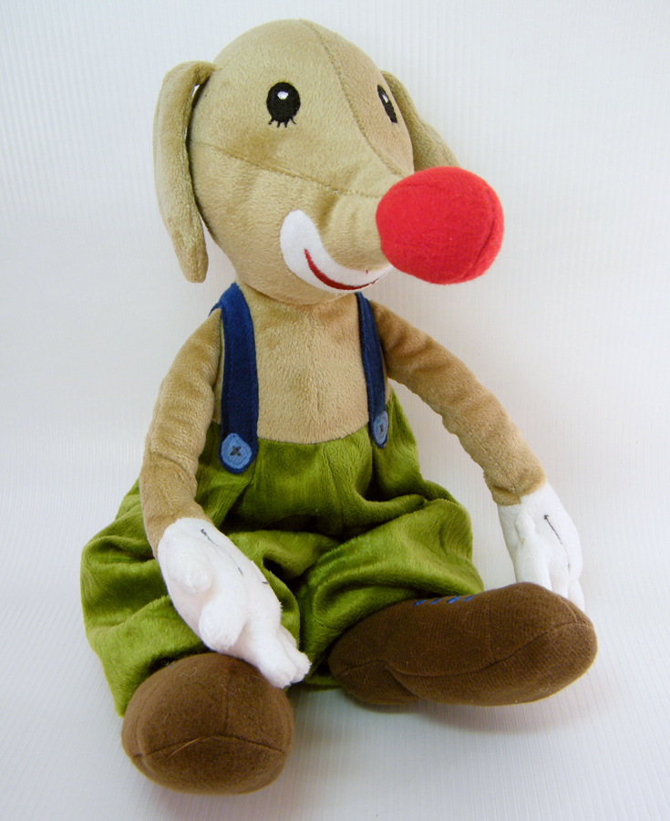 Soft Toys With Pockets : Ikea klappar cirkus dog clown and mouse in pants pocket