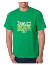 Men's Tee Shirt Saint Patrick's Day Beer Holder Irish Shirt - $17.00
