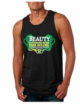 Men's Jersey Tank Top Saint Patrick's Day Beer Holder Irish Shirt - $17.00