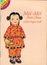 MEI-MEI FROM CHINA- STICKER PAPER DOLL- DOVER L... - $4.95