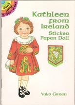 KATHLEEN FROM IRELAND -STICKER PAPER DOLL- DOVE... - $4.95