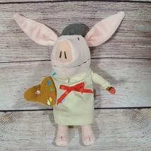 "Spin Master Plush Olivia the Pig Painter Artist Stuffed Animal 10"" 2010 - $11.63"