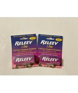 2x RELEEV 1 DAY Cold Sore Symptom Treatment .20oz/6 ml Exp 02/2022 Fever Blister - $35.63