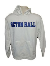 Seton Hall University Adult Medium White Hoodie Sweatshirt - $29.69