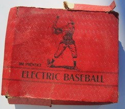 1940 Jim Prentice Electric Baseball Game Wood Vintage Lights Sold As Is - $22.67