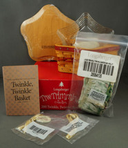 Longaberger Twinkle Twinkle Basket Combo With Lid New In Box - $37.99