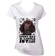 Poodle Black  A Little Joy   New Cotton T Shirt  S M L Xl Xxl - $25.24