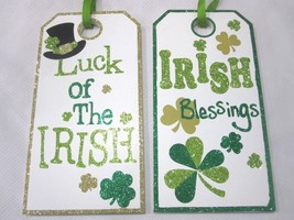 St Patricks Day LUCK OF THE IRISH, IRISH BLESSINGS Wood Sign Decorations... - €12,23 EUR