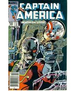 "Captain America #286 : Deathlock Lives in ""One ... - $4.03"