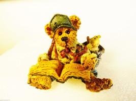 Boyds Bears Bearstone Willie as Noah's Son Tough Job but .. retired figu... - $24.75