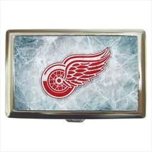 Red Wings Cigarette Money Case - NHL Hockey - $12.56