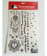 2 Full Sets Seattle Mariners Metallic Body  MLB Temporary Tattoos Foil J... - $5.89