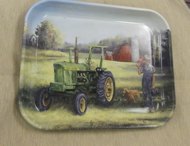 "Trademark Marketing John Deere ""Lunch Time"" Metal Serving Tray #73128648... - $7.92"