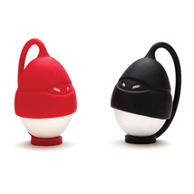 Kids Funky Egg ninjas Set 2 easy Safe boiling cooking Silicone Home Desi... - $21.00