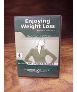 Enjoying Weight Loss 4 CD Set by Roberta Temes with Hypnosis Techniques,... - $7.50