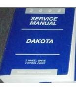 2002 Dodge DAKOTA TRUCK Service Repair Shop Workshop Manual FACTORY Bran... - $188.05