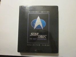 COMPLETE 1992 STAR TREK NEXT GENERATION INAUGURAL EDITION COLLECTOR CARD... - $19.99