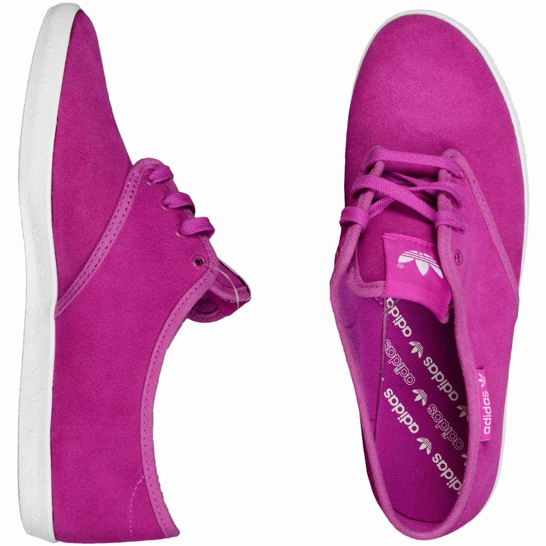 Adidas Originaux Femmes Adria Ps Baskets Femmes Chaussures Tennis - Vif Rose image 3