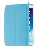 Blue Magnetic Trifold Smart Cover With Sleep/Wake Function for iPad Mini... - $5.93