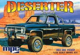Model Car GMC Truck Hobby Kit 1984 Pickup Deserter MPC 847 Detailed Scal... - $38.70