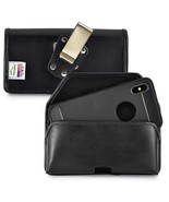 Genuine Leather Heavy Duty Clip Case fits iPhone XSMAX with a thin cover on - $39.99