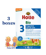 Holle Stage 3 Organic infant Formula 3 BOXES 10 month plus 05/2020, 600g - $75.95