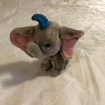Vintage Disney Dumbo Plush Elephant Stuffed Animal 7 Inch - $13.39 CAD