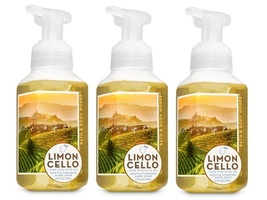 Bath & Body Works Limoncello Gentle Foaming Hand Soap w Olive Oil- 3 Pack - $18.75