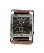 Square Dial Quartz Watch Unisex Fashion Analog Stylish Leather Strap Wri... - $9.99