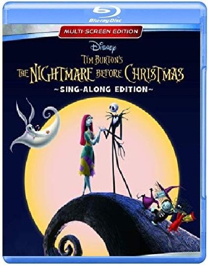 Disney Tim Burton's The Nightmare Before Christmas (Blu-ray)