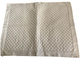 CHARTER CLUB 100% Cotton Diamond Quilted standard Pillow Sham - Tan Beige - $17.10