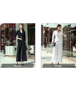 ITCQUALITY 2 PIECES SET WOMEN WORK WEAR OFFICE PANT SUIT WITH POCKET ITC... - $160.00