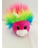 "Crayola Experience Rainbow Unicorn Style 10"" Plush Stuffed Animal Neon P... - $14.83"