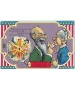 July 4th, 1909 Series #1 colorful Patriotic comic Postcard Mint #3 ~See it - $8.00