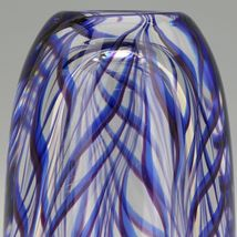 "Vintage Kosta Glass Sigurd Persson Thick Walled ""Tendril"" Vase image 8"