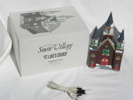 "Dept. 56 Snow Village Christmas ""St. Luke's Church"" Building #5421-6 w/Box - $19.99"