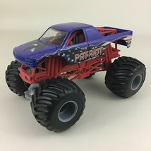 Hot Wheels Monster Jam Monster Truck The Patriot Eagle Flag Blue 1:24 Ma... - $34.60