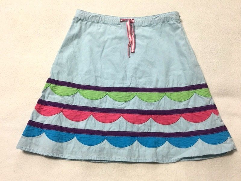 Mini boden 9 10 blue pink green scallop and 25 similar items
